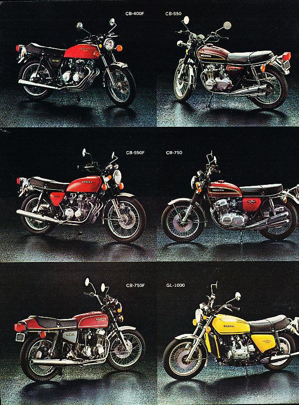 Honda-SOHC-fours