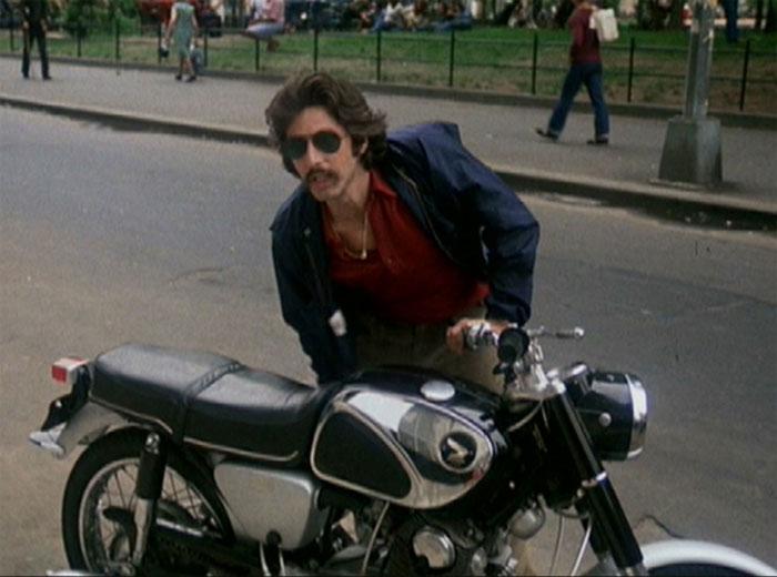 Al Pacino Honda Super Hawk