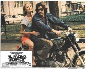 Al Pacino Serpico Honda Super Hawk