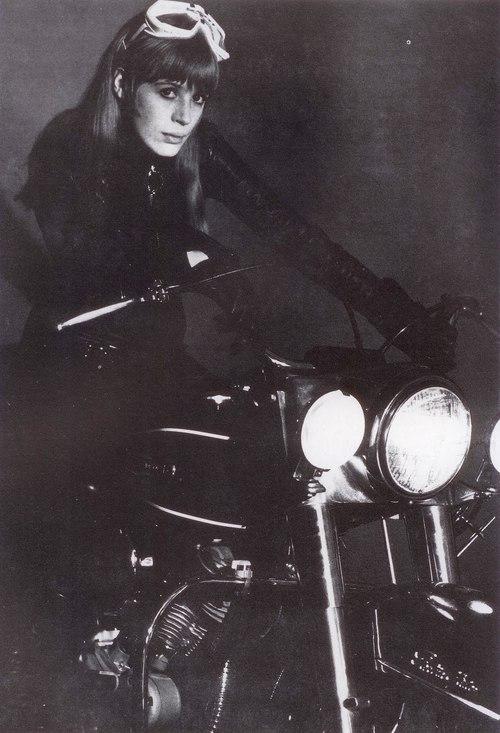 girl-on-a-motorcycle-Marianne Faithfull
