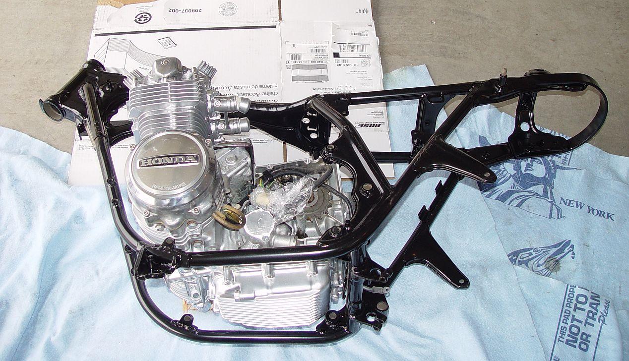 Honda Cb550 Cafe Racer Build 115 4into1com Vintage Motorcycles Information