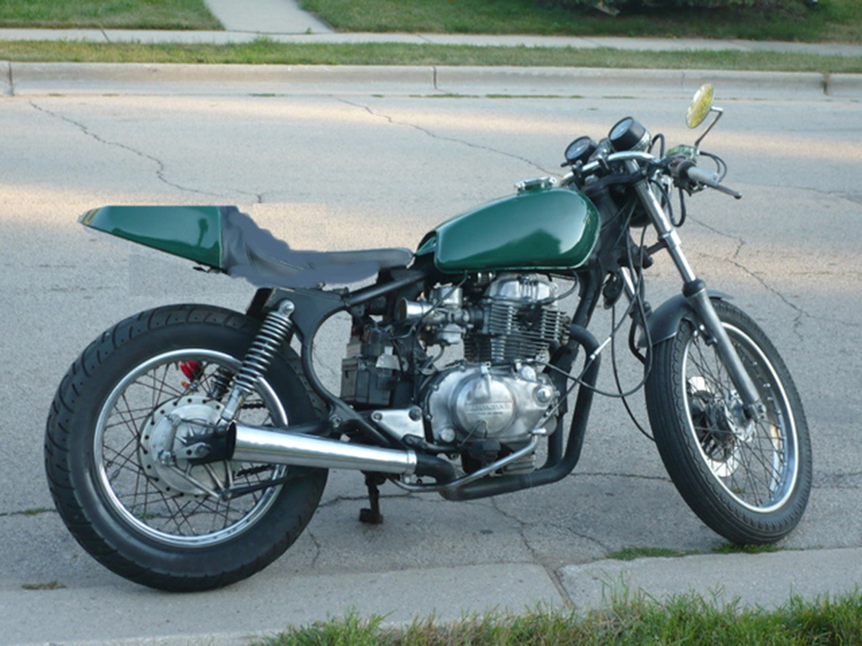 honda cm400t cafe racer | 4into1 vintage honda motorcycle