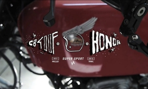 You're The Devil In Disguise - Honda CB400 Four Super Sport 1977
