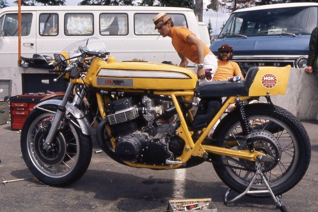 Honda CR750 Race Bike