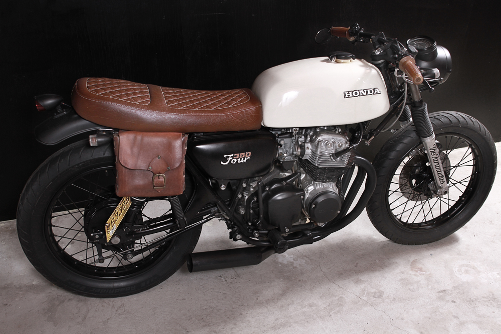 Honda CB350F Custom Vintage Motorcycle 1