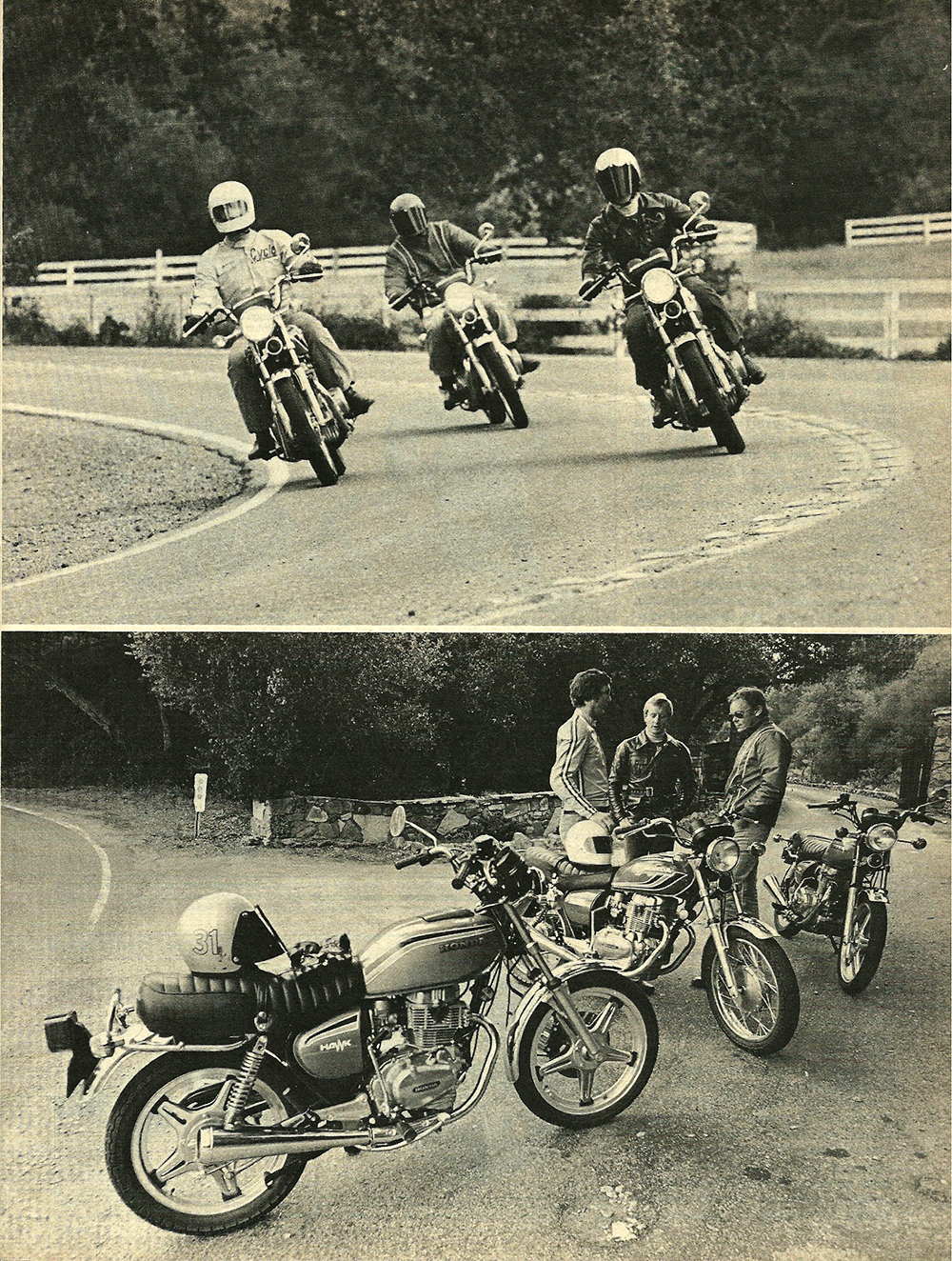 Cycle Test 1977 CB400T – The New Honda 400 Hawks | 4into1