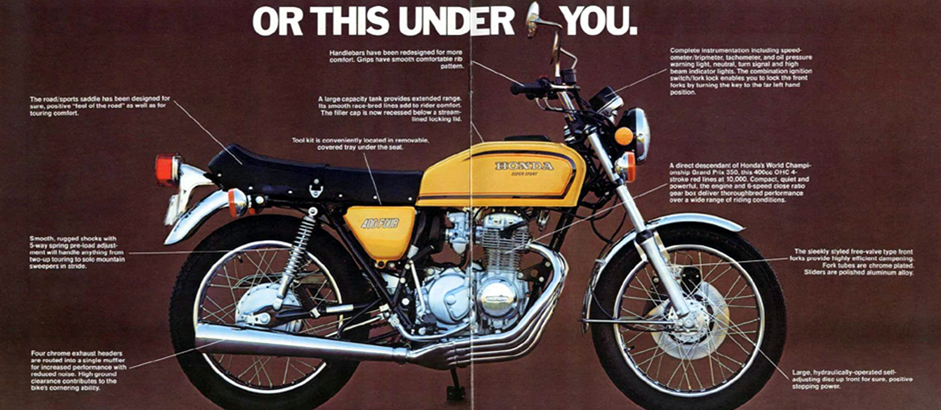 With This Ahead Of You 4into1 Com Vintage Honda