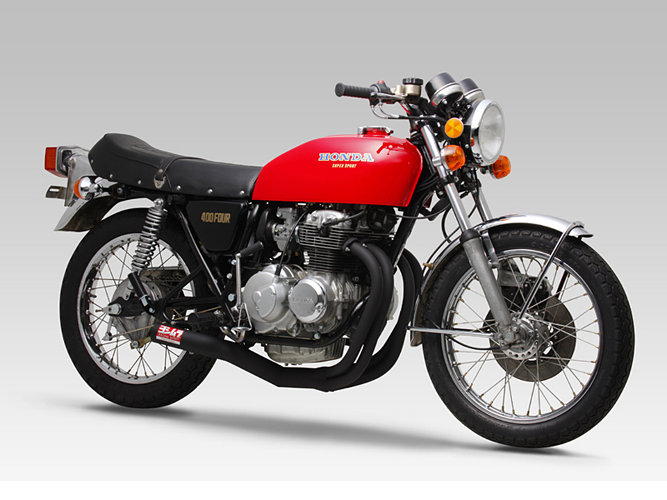 Yoshimura Honda CB400F Racing Straight Cyclone 4-Into-1 ...