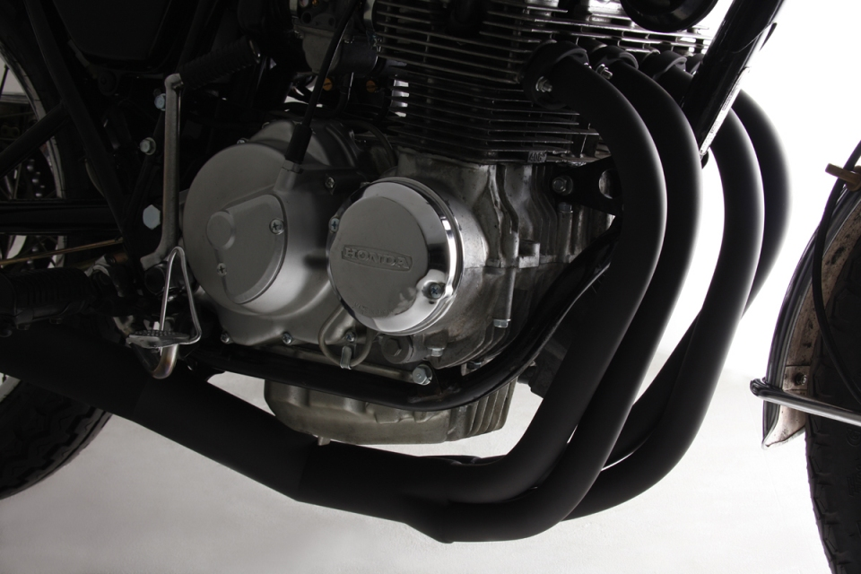 Yoshimura Honda CB400F Racing Straight Cyclone 4-Into-1 Exhaust