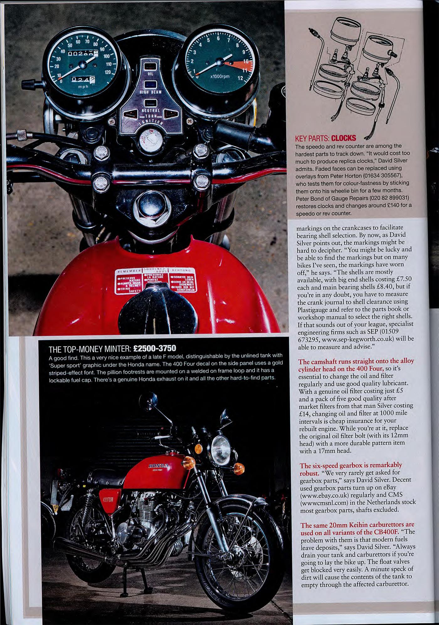 Why I Had To Buy A Honda 400 Four | 4into1.com Vintage ...