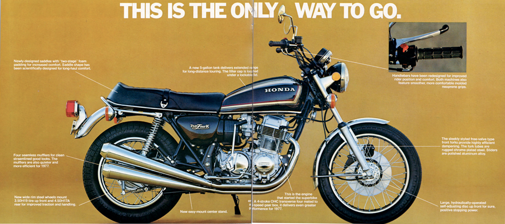 Https 2012 11 22 Roma Honda Cb750k Wire Diagram On Motorcycle Wiring Harness 1976 This Is The Only Way To Go Cb750 Cb550 3