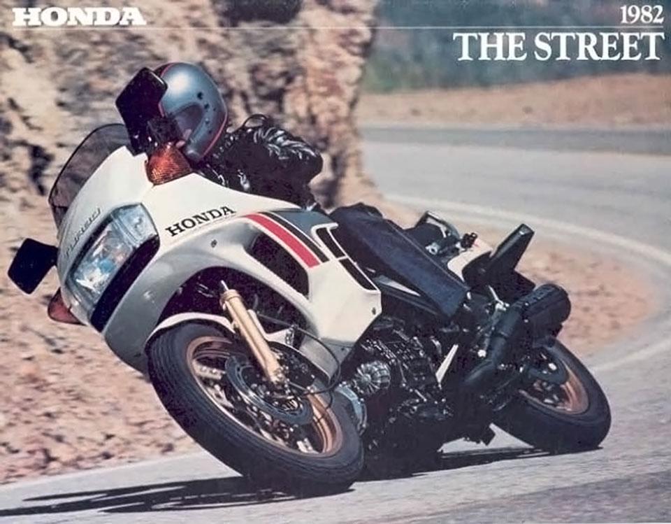 Honda - 1982 - The Street | 4into1.com Vintage Honda ...
