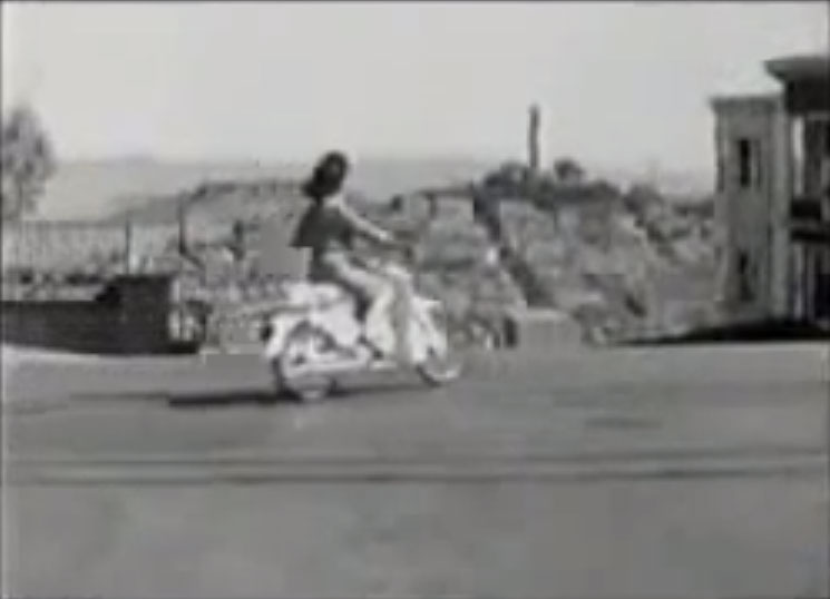 1966 Honda motorcycle commercial San Francisco