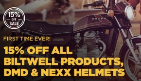 15% Off All Biltwell
